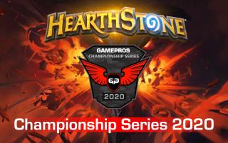 GamePros Hearthstone Championship Series 2020